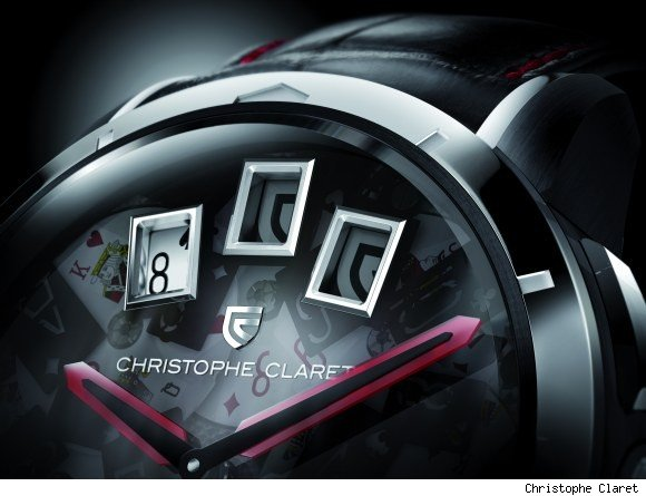 Christophe Claret 21 Blackjack Watch For Casino Game Lovers