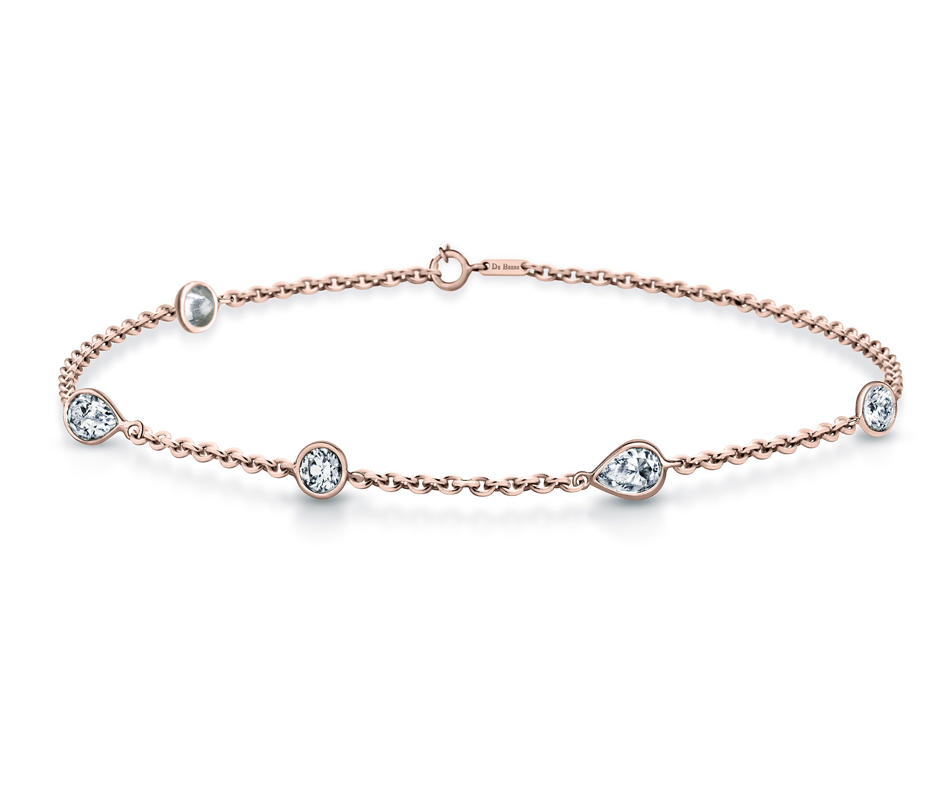 De Beers Clea Bracelet in Rose Gold