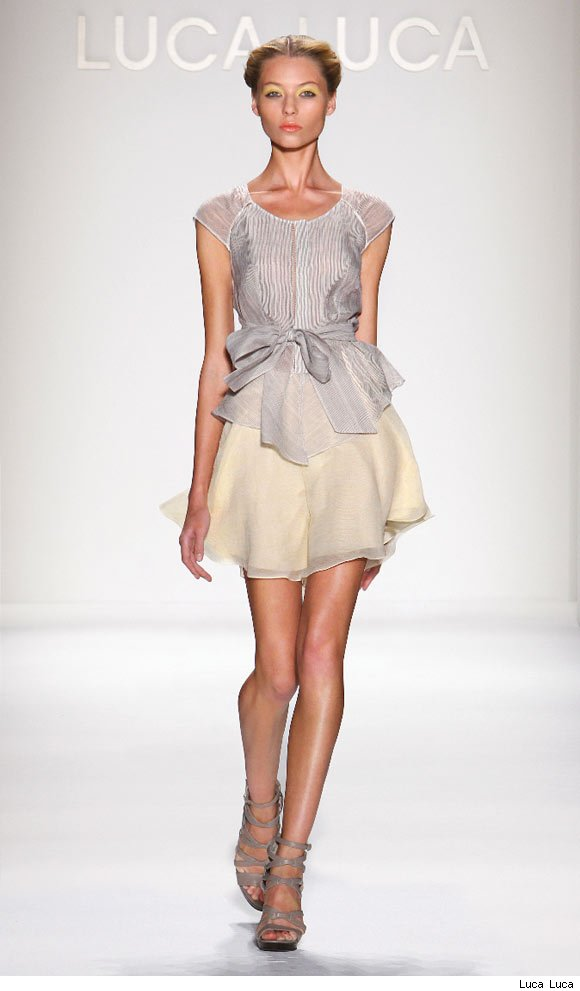 Luca Luca's Spring/Summer 2011 Collection