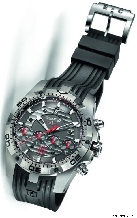 Eberhard & Co. Chrono 4 Géant Titanium Limited Edition Watch