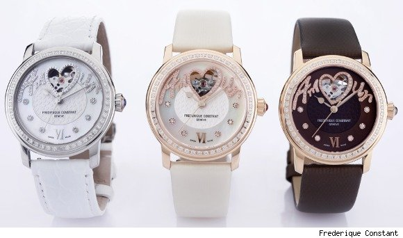 Frederique Constant Amour Heart Beat Ladies Automatic Watch