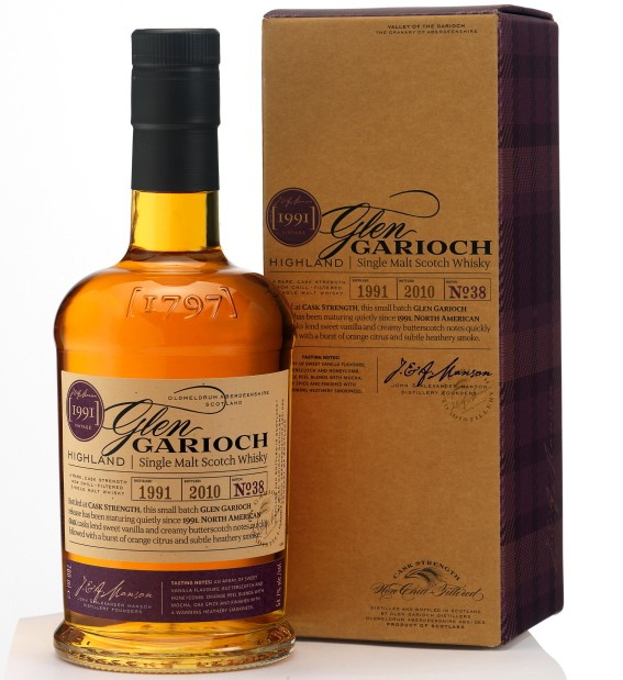 Glen Garioch Releases Ltd. Edition 1991 Single Malt