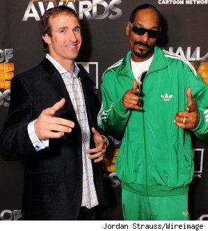 drew brees and snoop dogg