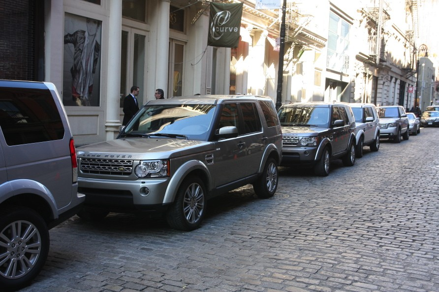 Land Rovers at Rag & Bone