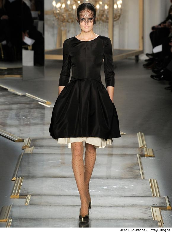 A model walks down the runway during Jason Wu's Fall/Winter 2011 Collection Fashion Show