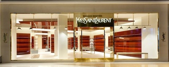 Stefano Pilati Designs The Opium Experience: A New YSL Retail Space At Crystals, Las Vegas