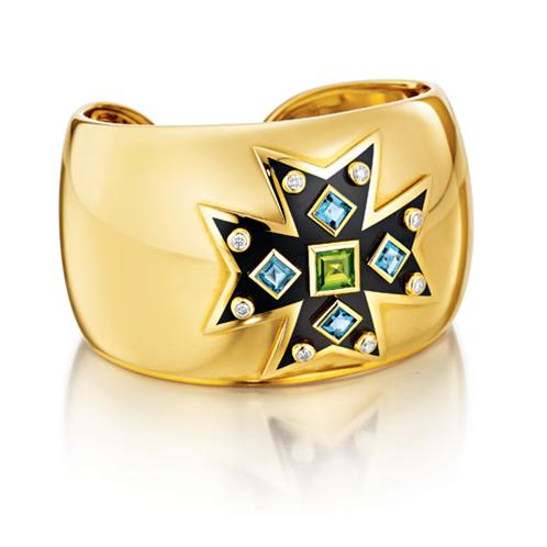 maltese cross cuff verdura