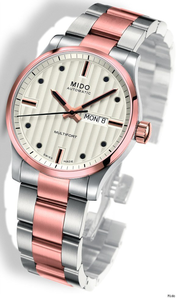 Mido Multifort Bicolor Watch