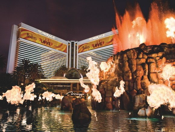 High Roller's Valentine's Day Package at the Mirage for $41,000