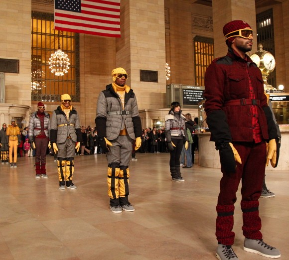 Moncler Takes Over Grand Central at Fashion Week