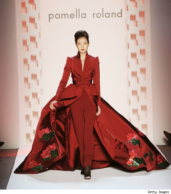 Pamella Roland Fall 2011 Collection at NY Fashion Week