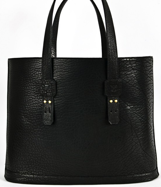 Parabellum Bison &amp; Kevlar Leather Tote