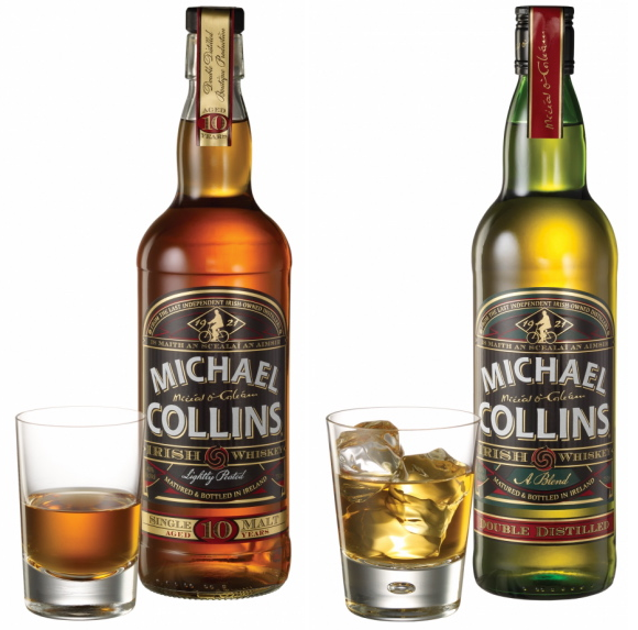 Michael Collins Irish Whiskey Debuts 10 Year Old Single Malt