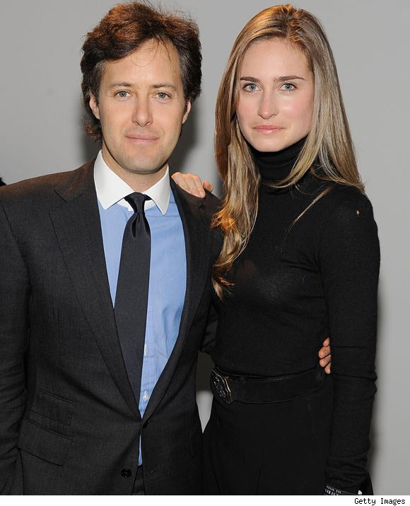 David Lauren and Lauren Bush attend the Ralph Lauren Fall 2011 Collection presentation