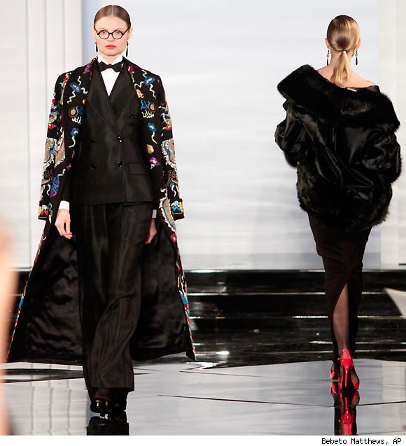 Ralph Lauren Fall 2011 Collection presented during NY Fashion Week