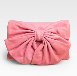 Red Valentino Bow Flap Convertible Clutch