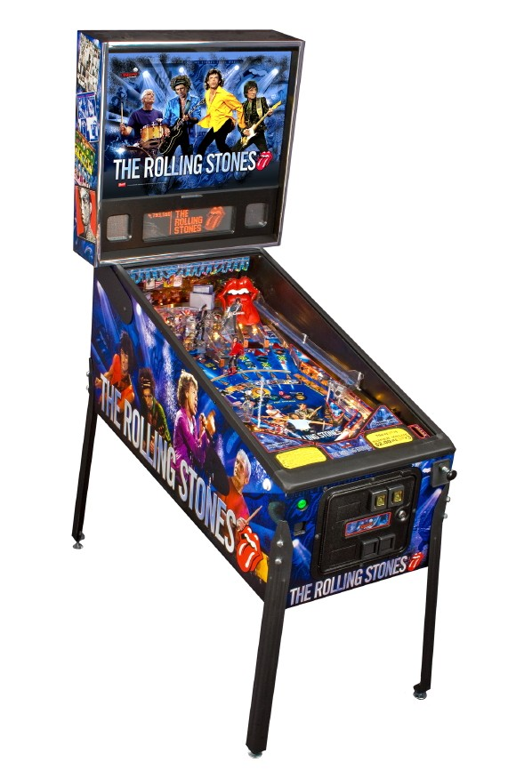 rolling stones pinball machine