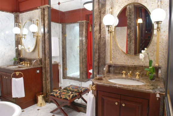 ...And the Bathroom at the Royale Suite, The Regent Grand Hotel Bordeaux