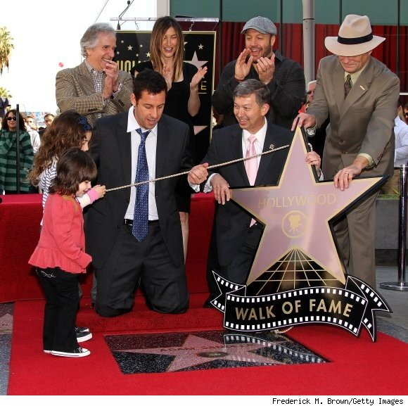 Adam Sandler Gets Star on Hollywood's Walk of Fame.