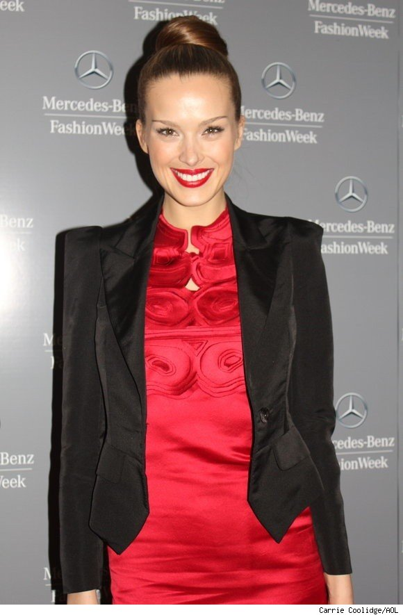 Petra Nemcova honors Vivienne Tam at NY Fashion Week Fall 2011