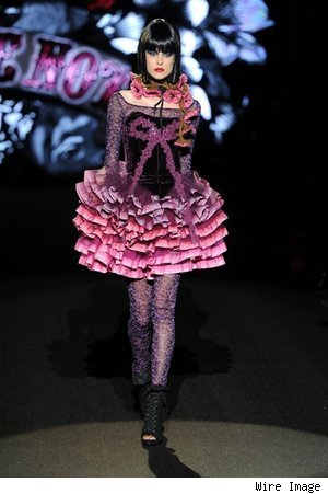 Betsey Johnson Fall 2011 Collection at NY Fashion Week