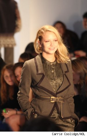 Annabelle Dexter-Jones models at Charlotte Ronson Fall 2011 Show at Fashion Week