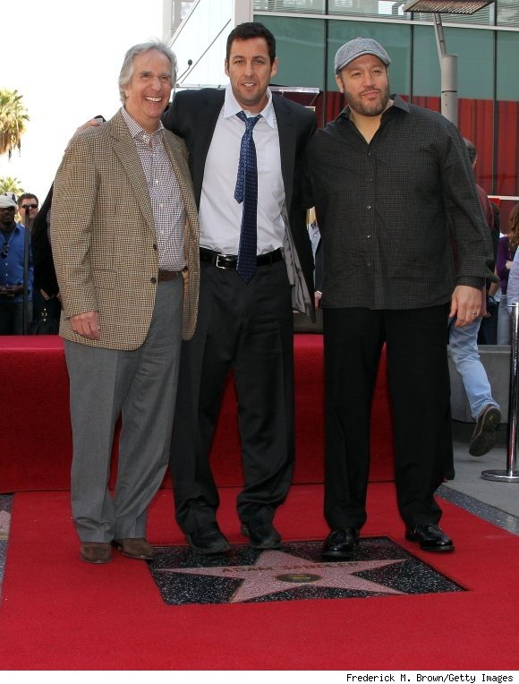 Adam Sandler Gets Star on Hollywood Walk of Fame.