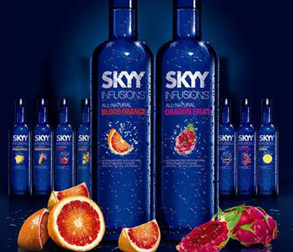 SKYY Infusions Blood Orange & Dragon Fruit