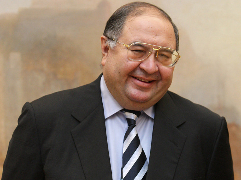 #3 ? Alisher Usmanov