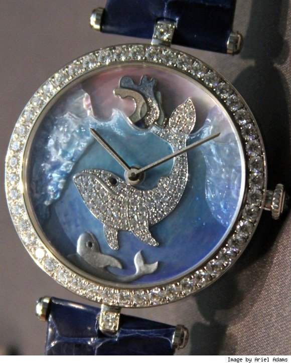 Van Cleef & Arpels Cadrans Extraordinaires Animal Watches For 2011