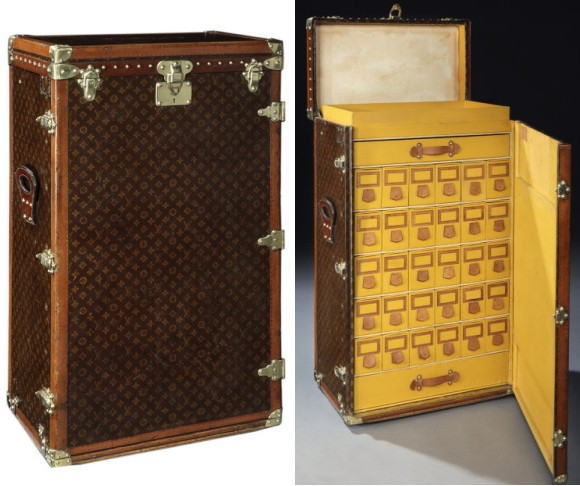 Rare 1920s Louis Vuitton Shoe Trunk for Sale at $68,500