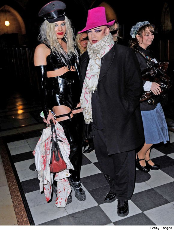 Boy George at the Vivienne Westwood Red Label Collection Fall/Winter 2011 show