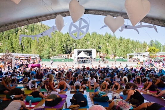 Wanderlust Yoga Festival