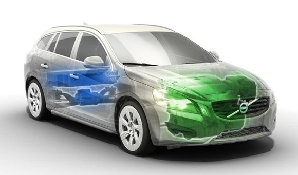 Volvo V60: The World's First Diesel Plug-In Hybrid