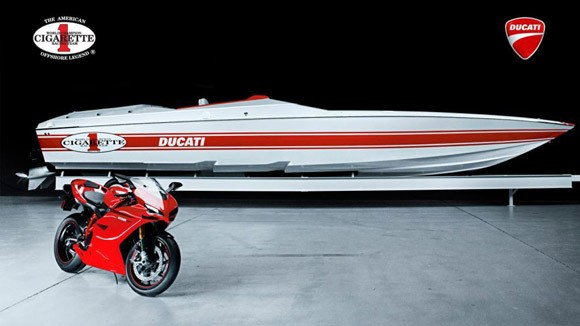 Cigarette 42X Ducati Edition