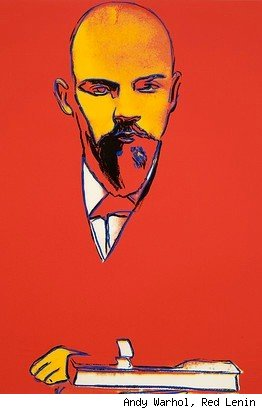 Andy Warhol, Red Lenin