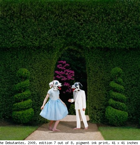 Papapetrou, The Debutantes, 2009, edition 7 out of 8, pigment ink print, 41 x 41 inches