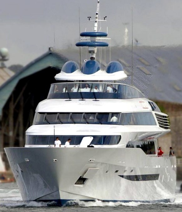 Aga Khan Superyacht