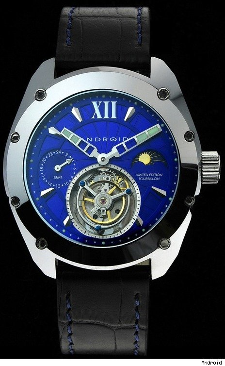 Android Virtuoso Tunsgten Tourbillon Watch