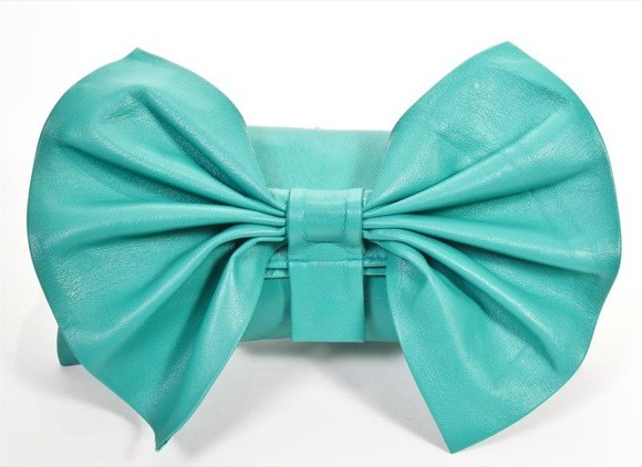 Carla Mancini Bow Clutch