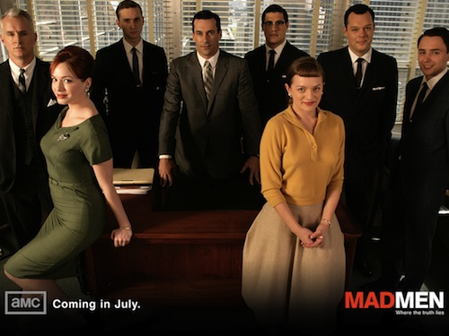 Cast of AMC's Mad Men