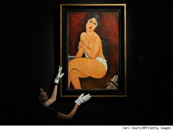 Modigliani Painting - $68.9 Million