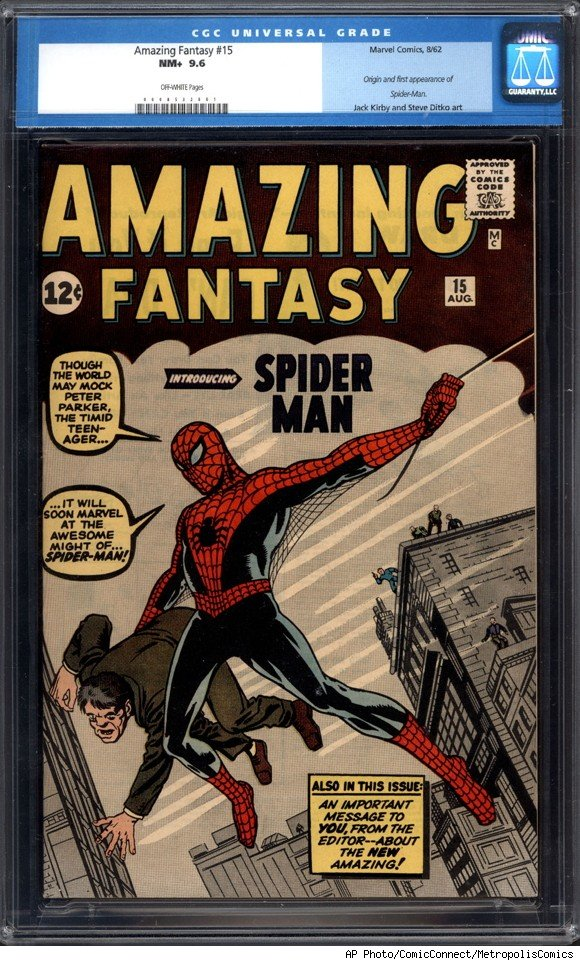 spider man comic