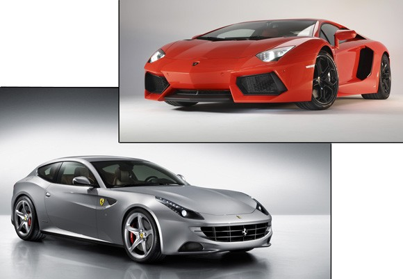 Lamborghini Aventador & Ferrari Four Sold Out for 2011