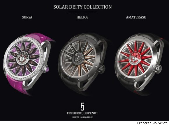 Frederic Jouvenot Solar Deity Collection Watches