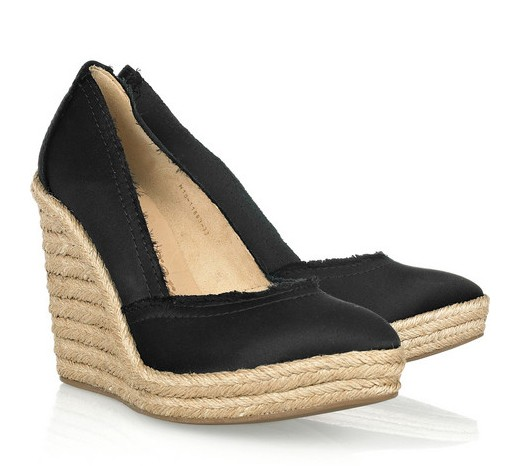 Pedro Garcia Felicity Satin Wedges