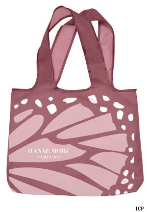 International Cosmetics & Perfumes Hanae Mori Tote Bag