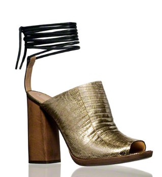 Reed Krakoff Clog with Ankle Tie