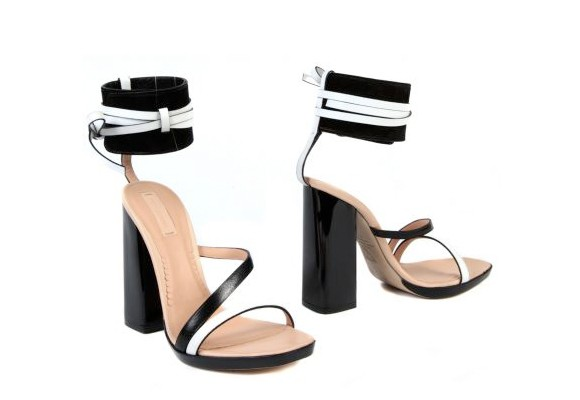 Reed Krakoff's Strappy Black Sandals