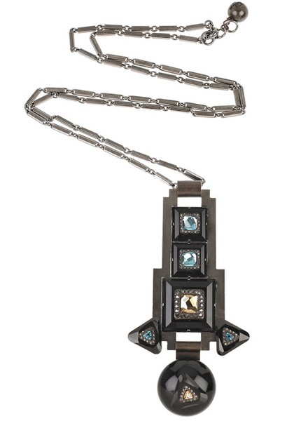 Lanvin Clou Diamants Glass Pendants